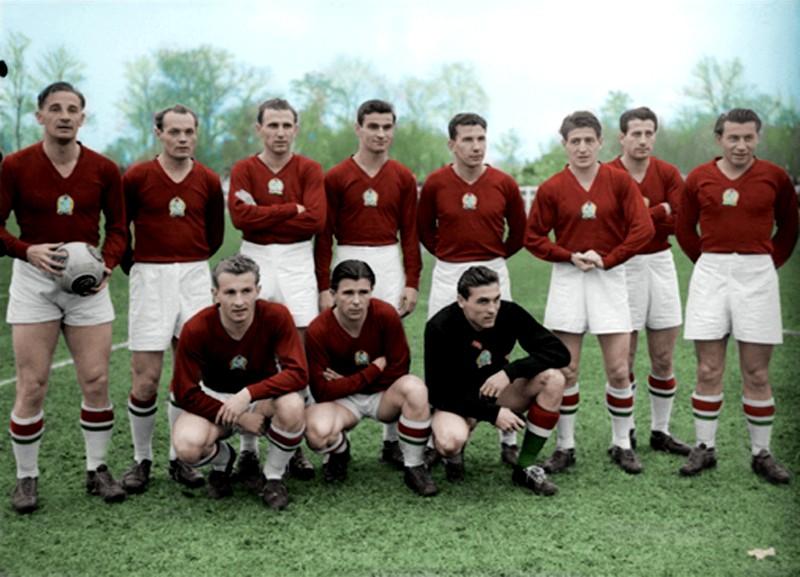 Hungria del 54 el equipo de oro  mundial de suiza 1954