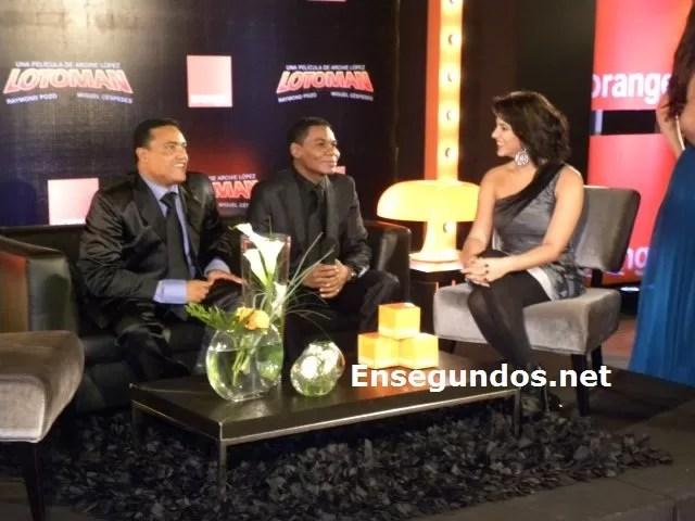 Miguel con Pamela y Raymond