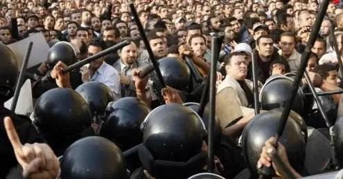 Ante protestas convocadas por las redes sociales bloquean internet en Egipto