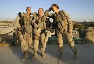 Imágenes de mujeres en la Guerra