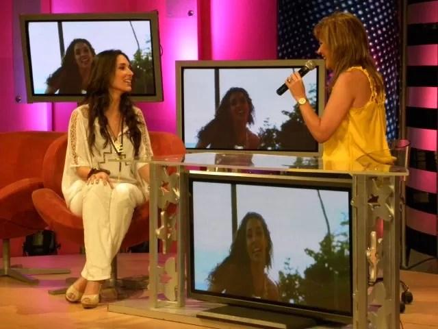 Amelia Vega confiesa que fue preparada mentalmente para no ser aplaudida en el concierto de Marc Anthony y Chayanne.