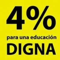 El debate por el 4% para la educación se ha convertido en un relajo