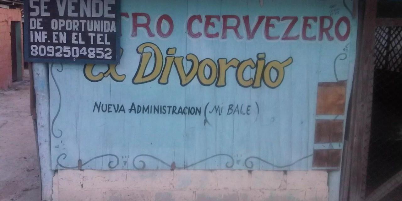 Un letrero 100% dominicano