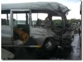 Trágico accidente en  Azua, 10 personas murieron