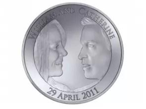 Presentan la moneda del Príncipe de Inglaterra