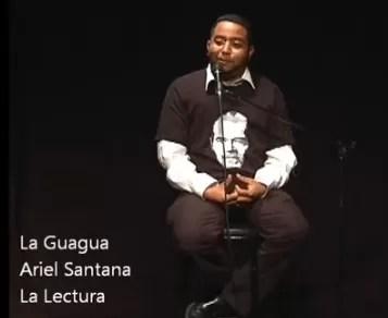 """Monólogo sobre """"El dominicano"""" y sus hábitos de lectura (video)"""