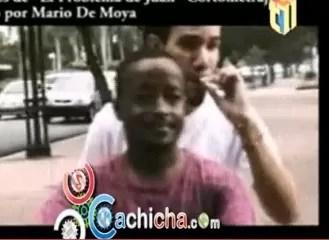 Mensajero que se robó los 5 millones también es actor (video)