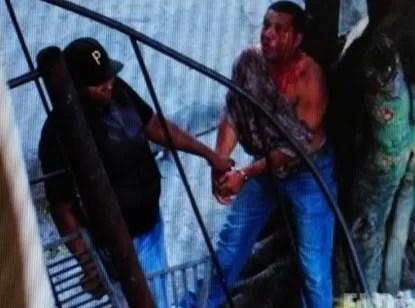 La golpiza de los agentes de la Policía Nacional a un hombre que trabajaba