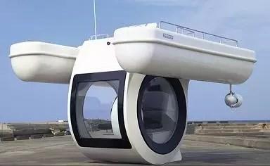 El yate submarino, dos en uno