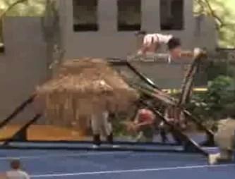 Un deporte muy riesgoso (video)