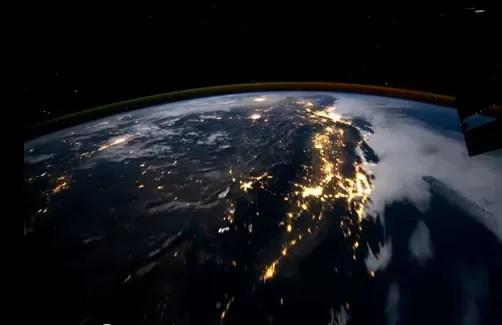Video de la impresionante belleza de la tierra vista desde la Estación Espacial