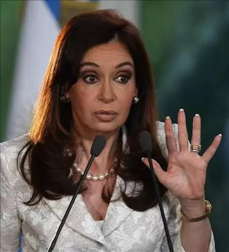 Presidenta argentina sufre de cáncer de tiroides y será operada