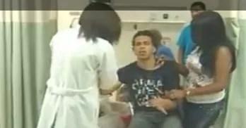 Salas de emergencias se llenaron de gente que estaba ¨empinando el codo¨ (video)