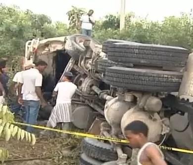 Video del accidente en la 6 de noviembre, dos muertos y 21 heridos