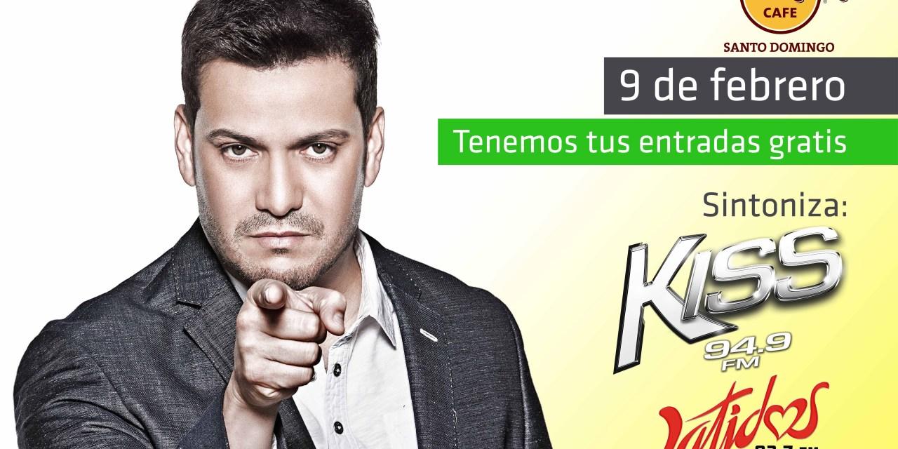KISS 94.9 y Latidos 93.7 presentarán gratis  a Víctor Manuelle a sus oyentes