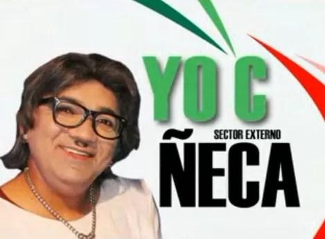 Ñeca a la presidencia, ¨Yo c que ella sabe¨ (video)