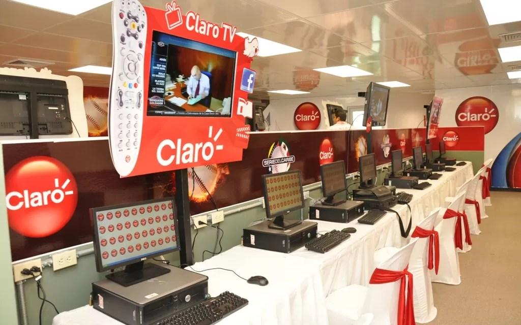 Claro instala sala de prensa a periodistas cubrirán la Serie del Caribe