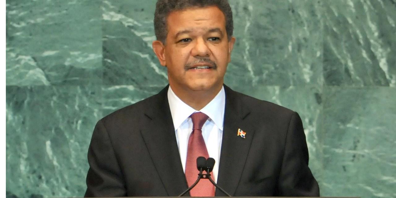 Leonel Fernández afirma RD vive en un clima de paz y estabilidad