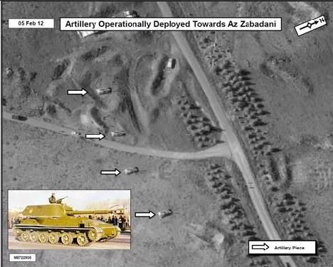 EEUU publica fotos satelitales en internet para probar violencia en Siria