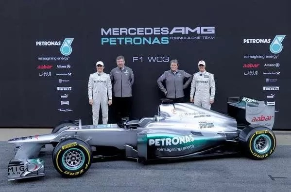 El nuevo Mercedes de Michael Schumacher