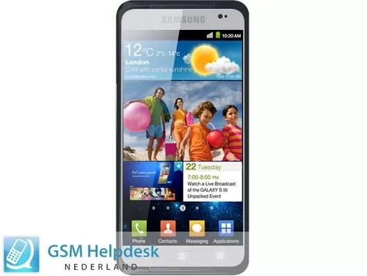 Así podría ser el Samsung Galaxy S III