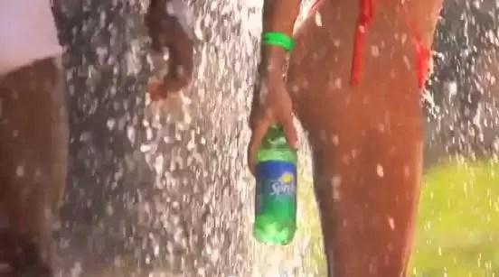 Así refresca Sprite en las playas de Brasil (video)