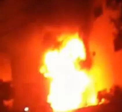 Video: Fuego afectó las instalaciones del Centro Oncológico Integral