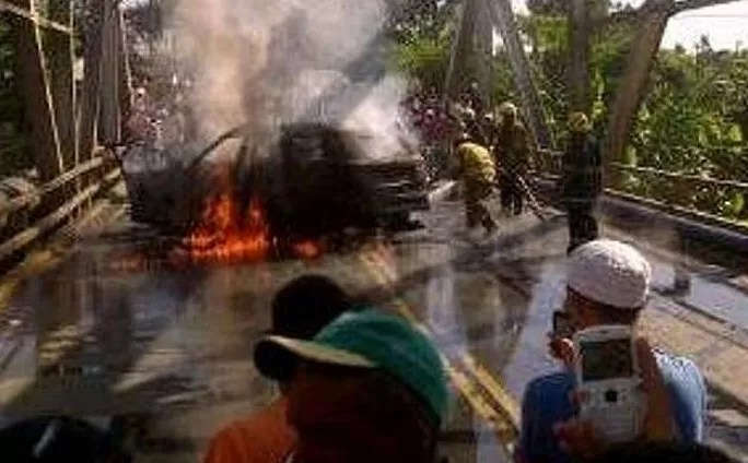 6 muertos en accidente Ranchito, La Vega