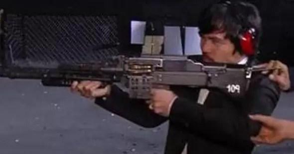 La metralladora de Manny Pacquiao (video)