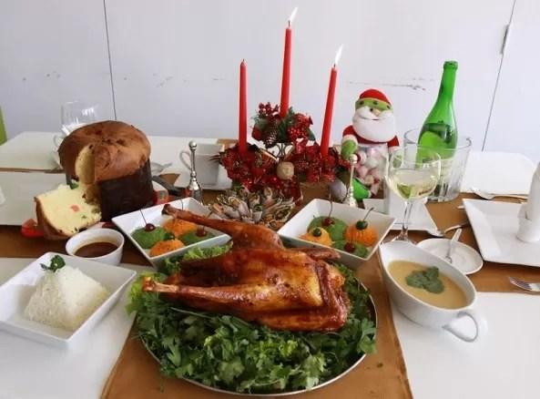 Cuidado con la comida en navidad