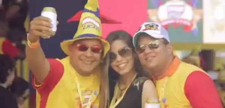 Así se disfruta el #CarnavalBrahmaLight (Video)