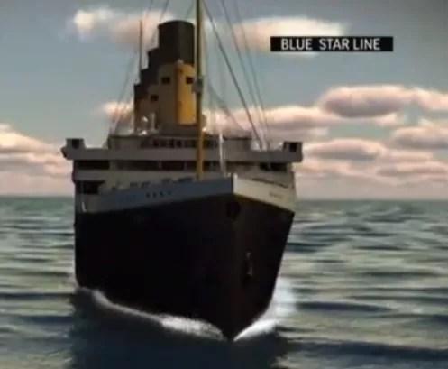 Magnate australiano presenta en Nueva York proyecto de réplica del Titanic