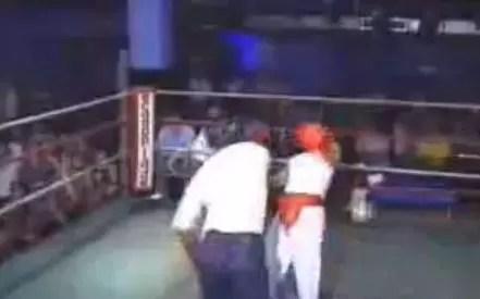 Hora de reír un poco, El peor boxeador del mundo