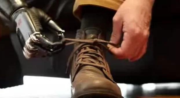 Un excelente brazo biónico (video)