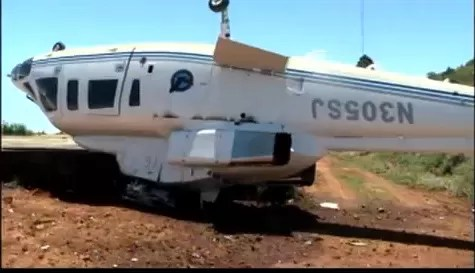 Helicóptero cae en Constanza dejando tres personas heridas (video)