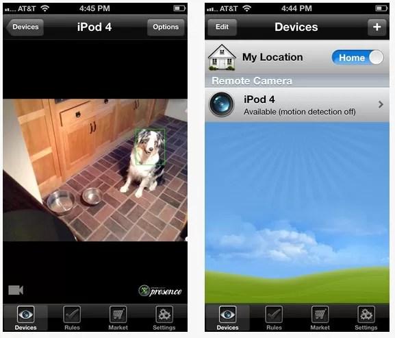 Aplicación que  transforma los iPhones inactivos en videocámaras con Wi-Fi de manera gratuita