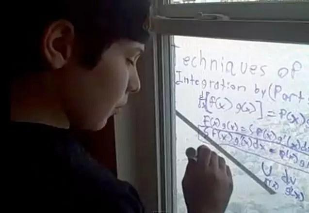 Niño autista de 14 años eventual candidato al Nobel de Física