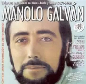 Murió el cantante español Manolo Galván