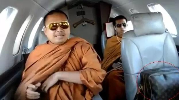 Polémica en Tailandia por monjes budistas dándose la buena vida