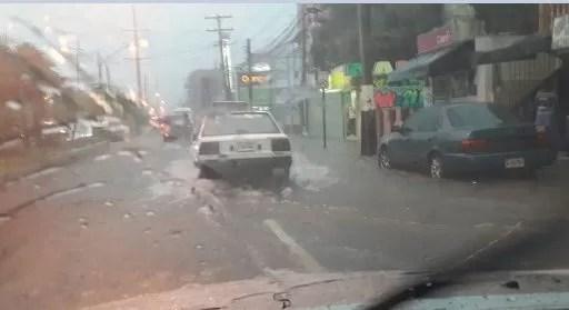 Chantal lluvias