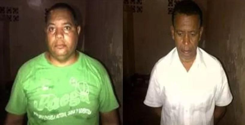 Arrestan  dos hombres que compraban baterías y otras mercancías con cheques sin fondos