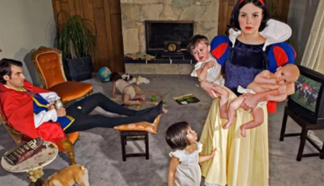 El final infeliz de las princesas de Disney