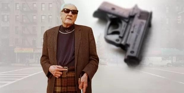 ciego pistola