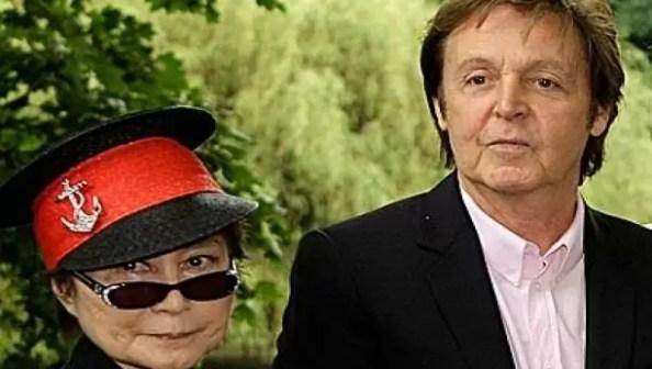 Yoko Ono Paul McCartney