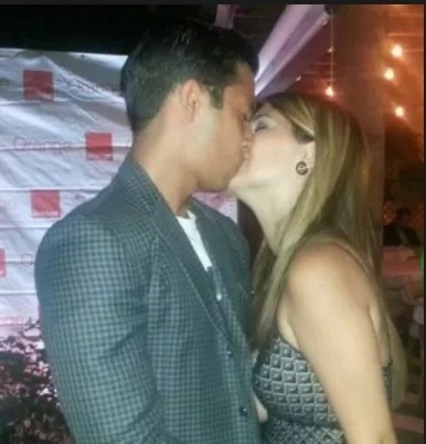 Leila Mejia y Joel Anico