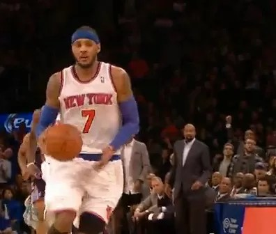 Carmelo Anthony anotó 62 puntos para los Knicks (video)