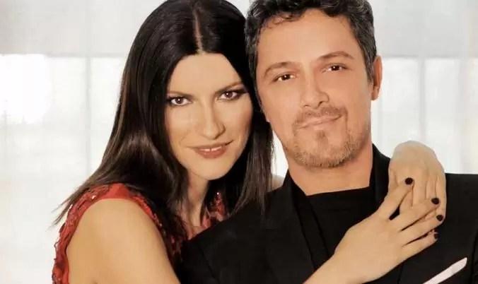 Laura Pausini presentó su nuevo video junto a Alejandro Sanz