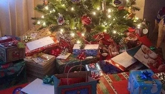 Narcos mexicanos repartieron regalos de Navidad