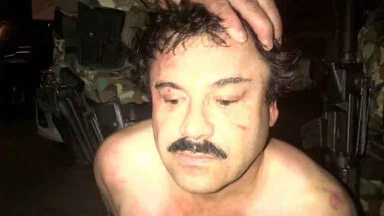 """Detienen a Joaquín """"Chapo"""" Guzmán, el narco más buscado de México"""