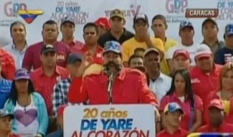 Nicolás Maduro: «Ellos dicen que yo soy Maburro»
